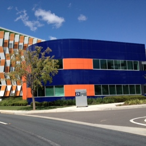 The building at Brindabella Business Park in which Corinna Dental is located.